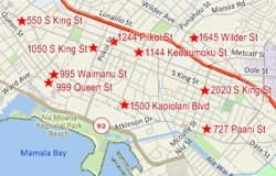 Locate records by address with Maptitude mapping software