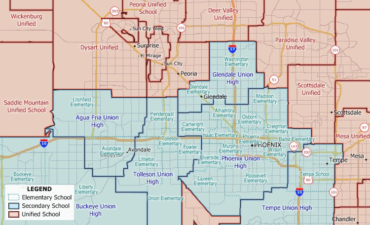Maptitude school district layers