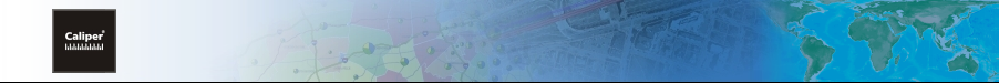 Caliper Mapping Software Page Banner
