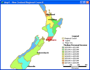 New Zealand geographic and census data DVD