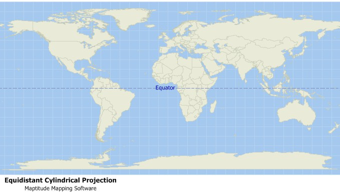 What is an Equidistant Projection - Definition Map Definition on satellite imagery, map explanation, map key, map signs, global map, map types, map characteristics, map of mediterranean, map formula, map symbol, aerial photography, map history, global positioning system, early world maps, compass rose, map properties, map notation, map terminology, map practice, map making, map projection, map application, map estimation, geographic coordinate system, map glossary, contour line, geographic information system, map goals, map concept,
