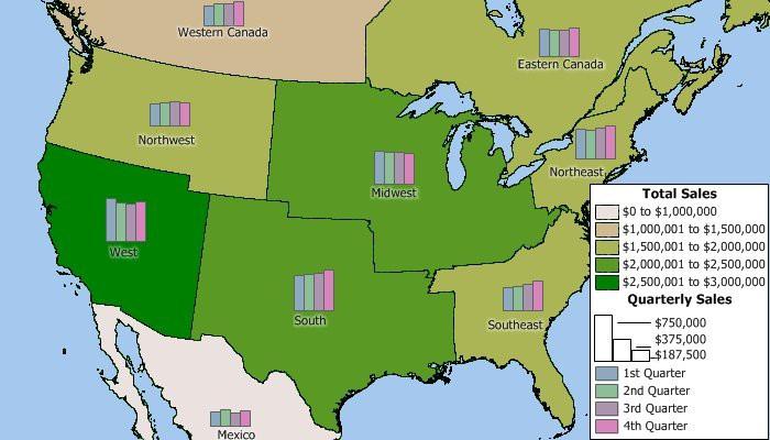 Maptitude custom territory map