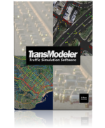 TransModeler traffic simulation software