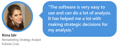 Within an hou of install you will be performing analysis that will impress your clients or boss. -Matt Myers