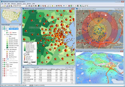 GIS Software - Geographic Information Systems - GIS Mapping