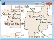 Census Place Sample Map
