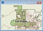 Census Place Summary Level Sample Map