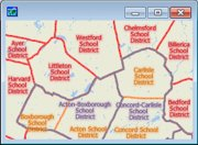 School Level Map