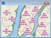 Sample State Legislative District Map