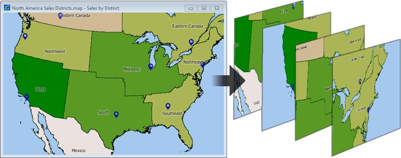 Batch Map Addin Example