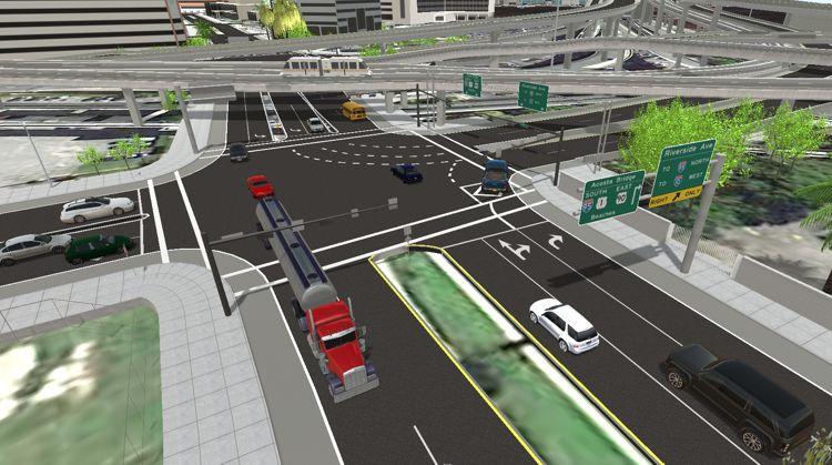 TransModeler Traffic Simulation Software