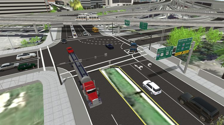 TransModeler 3D Traffic Simulation