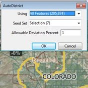 Impartial automatic redistricting software