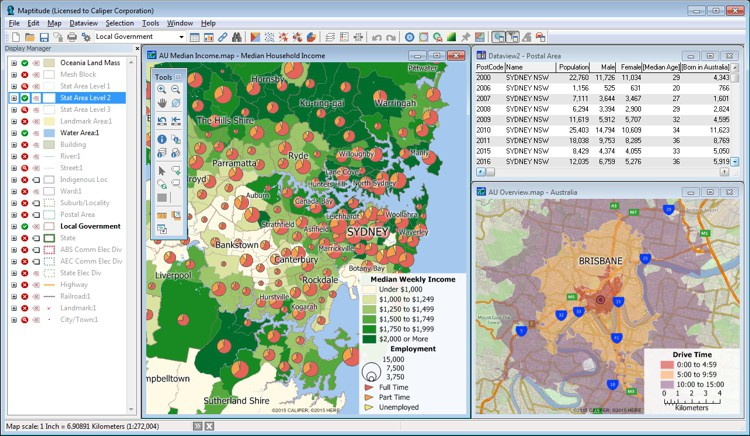Best Mapping Software for Australia Business Users
