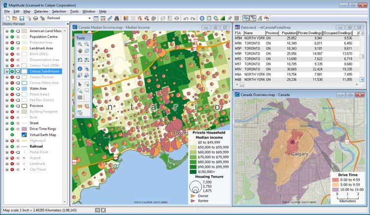 Best Mapping Software for Canada Business Users