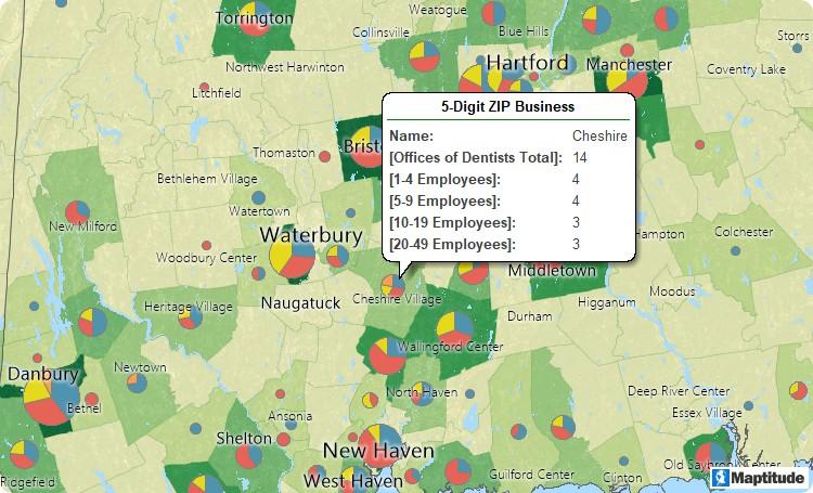 ZIP Code business counts