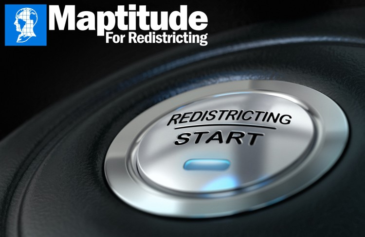 Start redistricting with Maptitude for Redistricting
