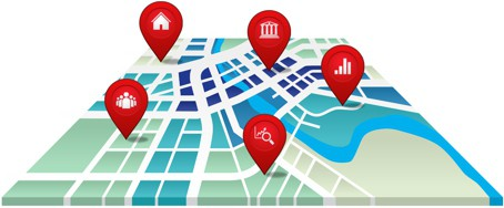 Maptitude Map Illustration