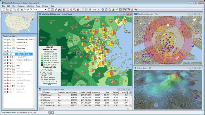 Best Mapping Software, Easy-To-Use, Price: $695 - Map Software