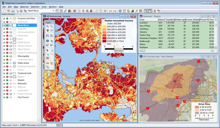 Best Mapping Software for New Zealand Business Users