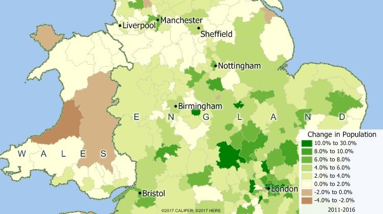Maptitude UK Mapping Software