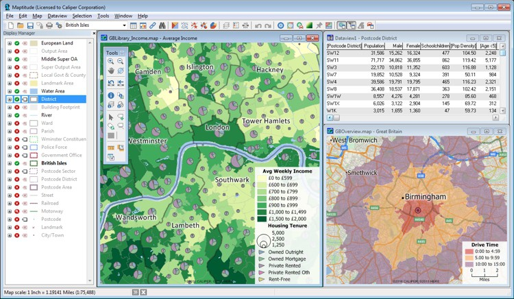Best Mapping Software for UK Business Users