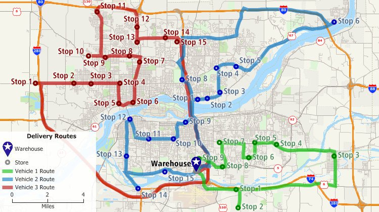 multi drop unlimited stop route planner software application