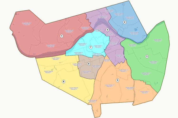 Redrawing school board voting districts with Maptitude