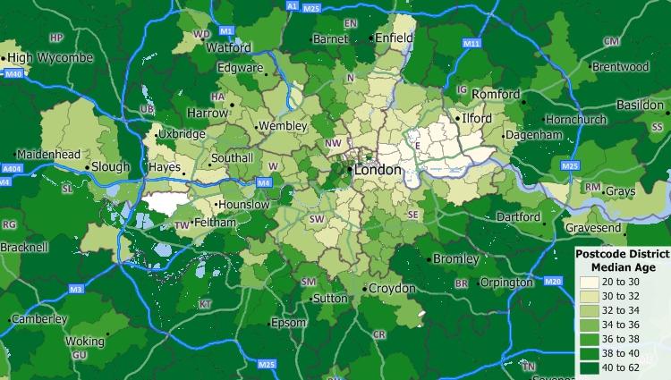 Map Of Uk Postcodes.Uk Postcode Mapping Software Postcode Maps