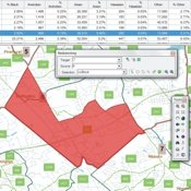 Maptitude redistricting software for ArcGIS