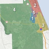 Maptitude voting district software