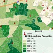 Maptitude school redistricting software