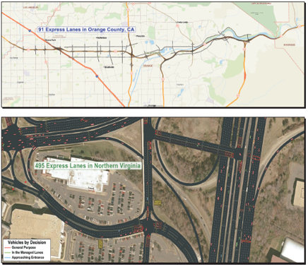 Simulation Methods for Analyzing Managed Lanes