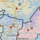 Maptitude Australia territory map maker