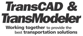 TransCAD and TransModeler transportation solutions