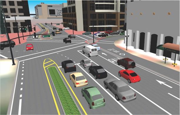 TransModeler 3D Simulation