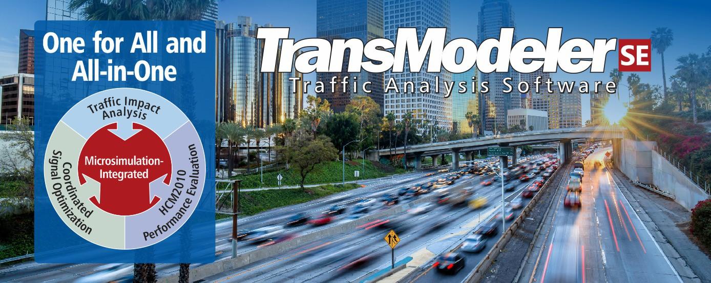 TransModeler SE Traffic Impact Analysis Software