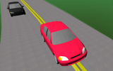 Simulate passing on rural two-lane highways