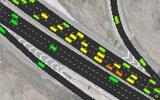 Freeway corridors and interchange simulations