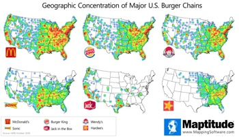 Burger Chain Density