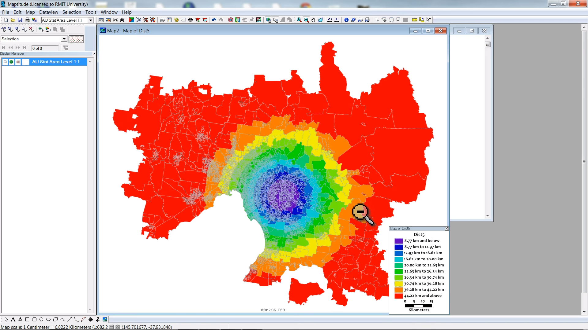 Using the Huff Gravity Model with Maptitude: Part 1