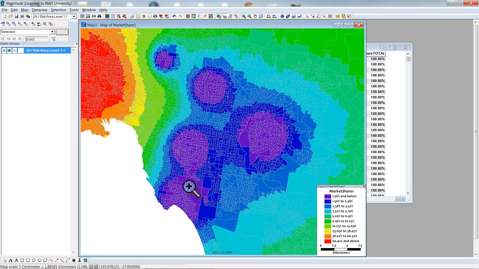 Using the Huff Gravity Model with Maptitude: Part 2