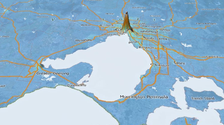 Topographic Mapping Software for Australia