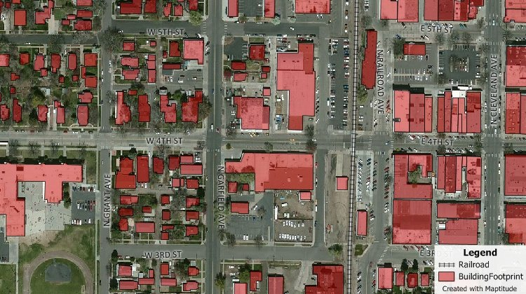 Aerial Photo And Satellite Imagery Mapping Software - Satellite image map