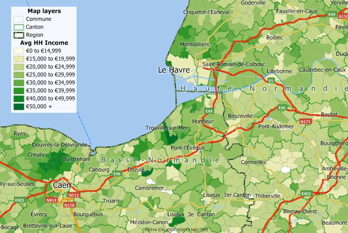 Map Of France With Key.Maptitude Mapping Software For France