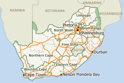 Maptitude Mapping Software for South Africa