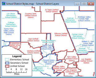 Census 20120 School Districts Map