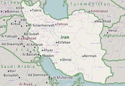 Iran Mapping Software
