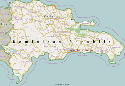 Dominican Republic Mapping Software