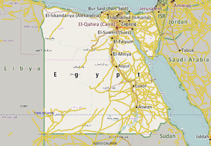 Egypt Mapping Software